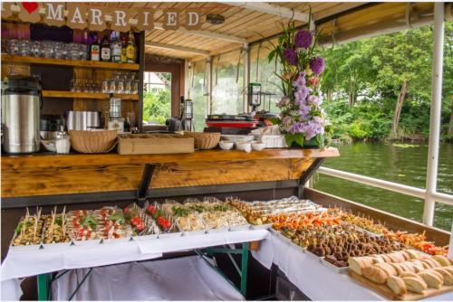 Catering auf dem Schiff