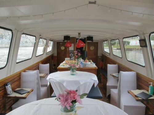 Hochzeit auf dem Schiff in Berlin MS Sylvia