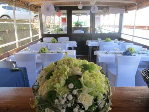 Hochzeit auf dem Schiff in Berlin
