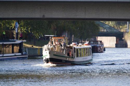Berliner Bootsverleih MS Saga